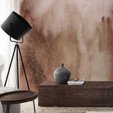 tapeta na ścianę elegant bronze