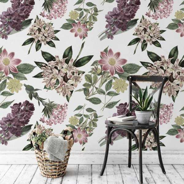 tapeta na ścianę english garden