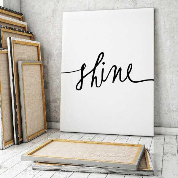 SHINE - Minimalistyczny Obraz na płótnie