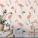 tapeta na ścianę flamingo watermelons