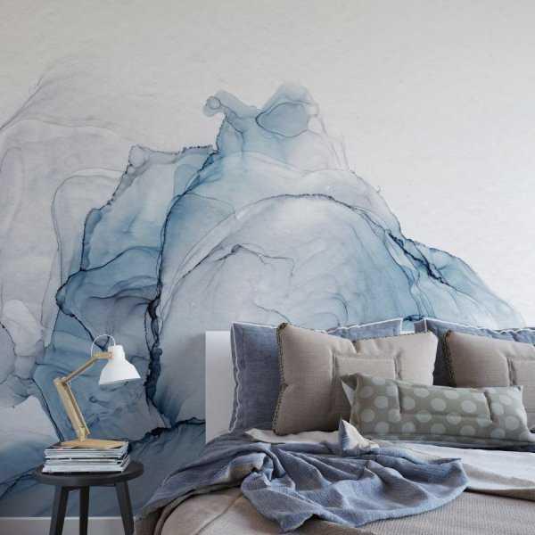 tapeta na ścianę flowers ocean