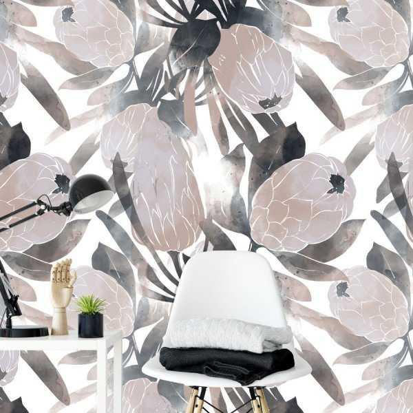 tapeta w kwiaty flowers of art