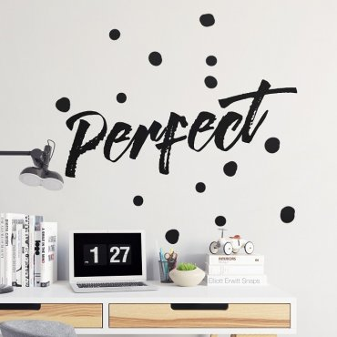 PERFECT - Naklejka ścienna