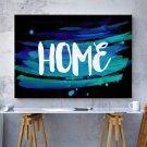 HOME ABSTRACT - Designerski obraz na płótnie