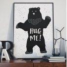 HUG ME! - Plakat desigerski