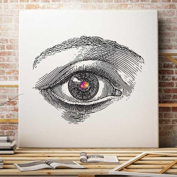 DESIGN EYE - Designerski obraz na płótnie