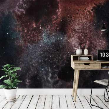 tapeta ścienna galaxy wall