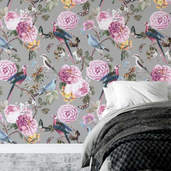 tapeta garden of birds