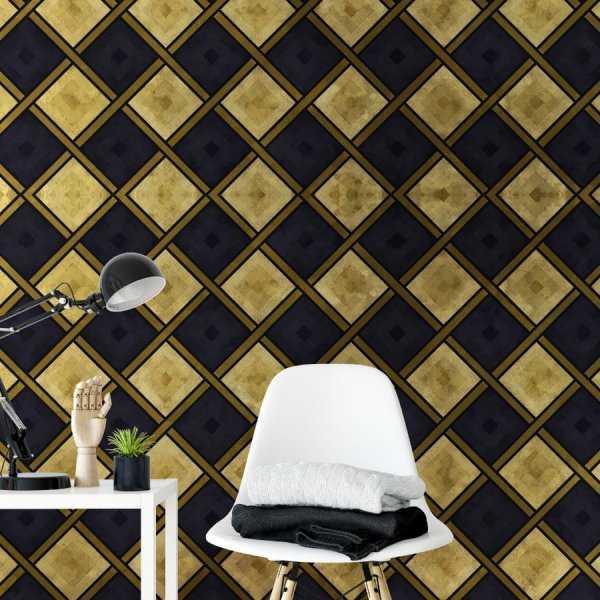 tapeta golden chess
