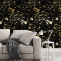 golden marble night tapeta