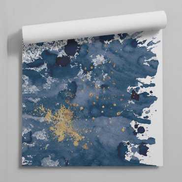 tapet agolden-blue bang