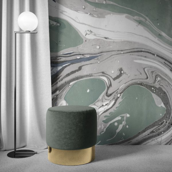 tapeta high-design green