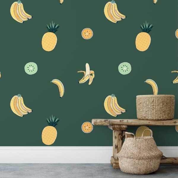 tapeta jungle fruits