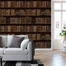 tapeta library wall
