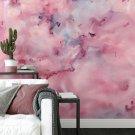 tapeta na ścianę lovely watercolor
