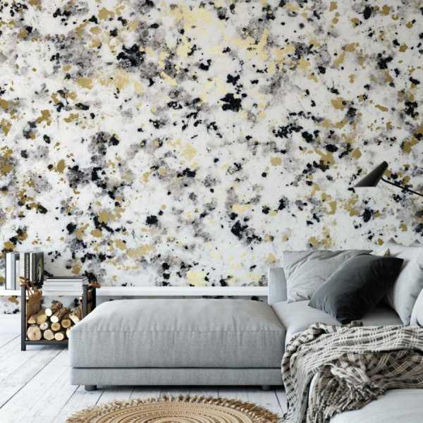 tapeta marble & gold