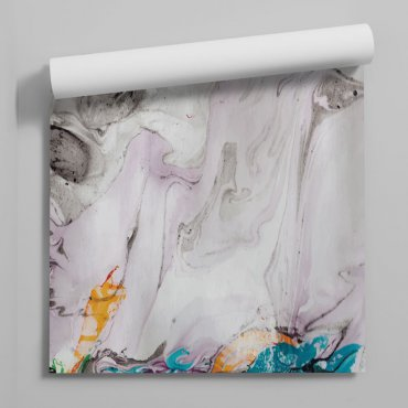 tapeta marble bottom rainbow