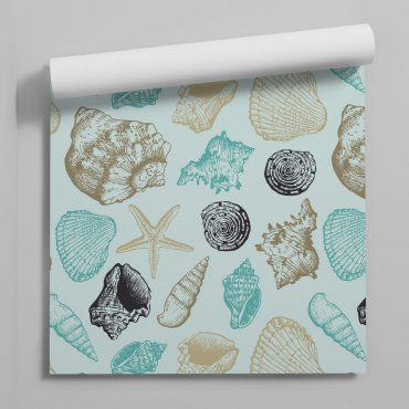 tapeta marine shells