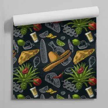 tapeta mexican food