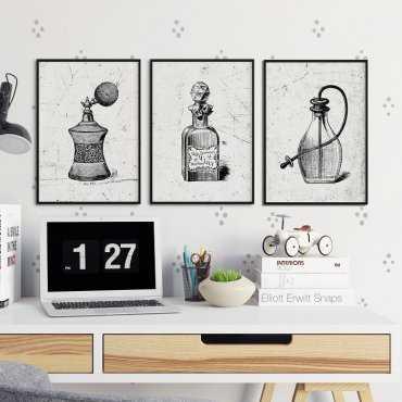 MOTYWACYJNY DESIGN - Komplet plakatów w ramach