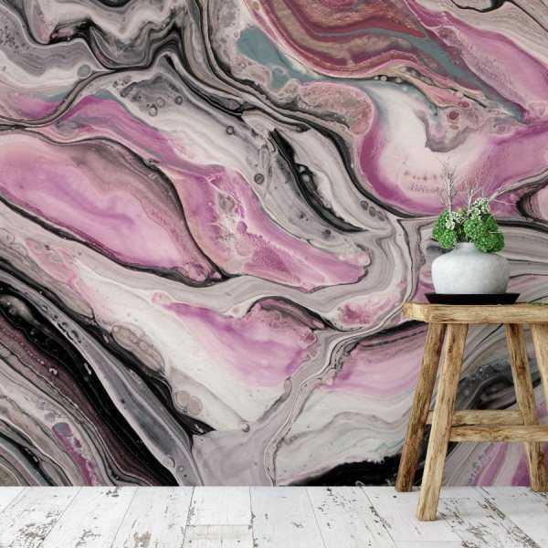 tapeta painting river