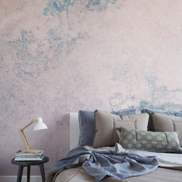 tappeta pink turquoise concrete