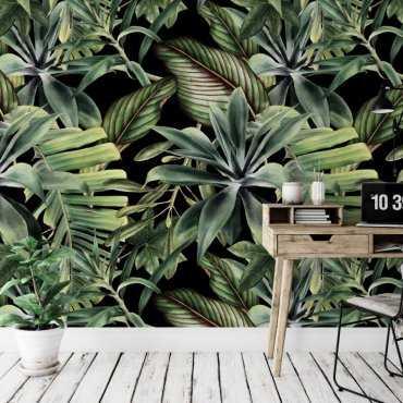 tapeta realistic flora