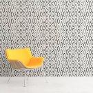RYSOWANE ROMBY - Tapeta geometryczna na ścianę