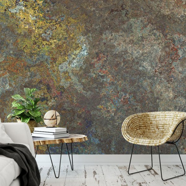 tapeta rusty wall