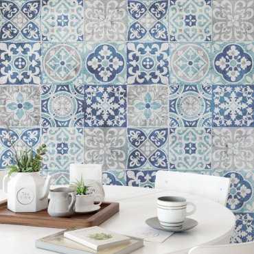 tapeta southern patchwork