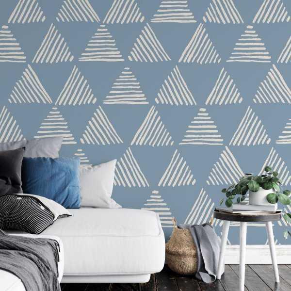 tapeta triangular zebra
