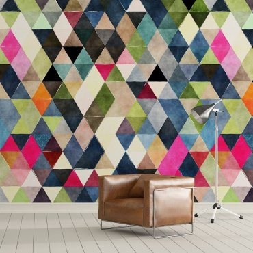 TRIANGLE ART - Tapeta na ścianę