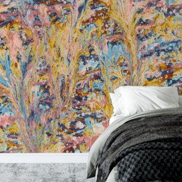 tapeta warm abstract