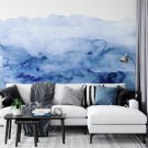 tapeta watercolor blue
