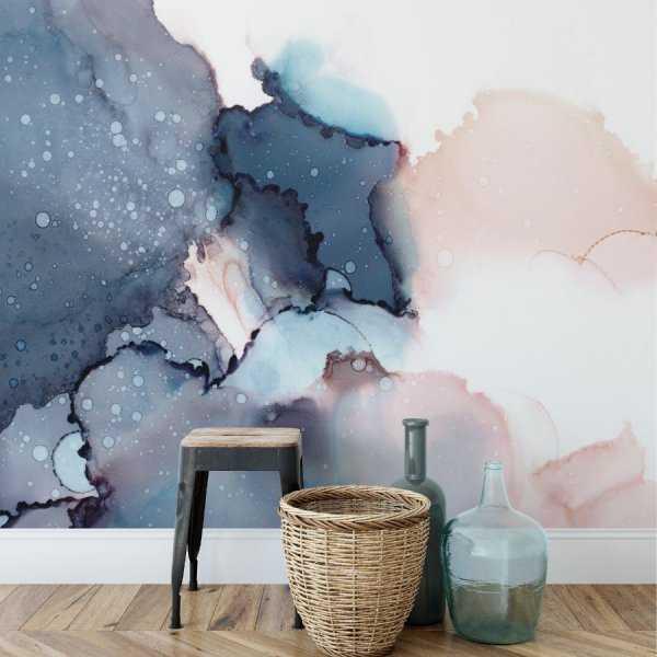tapeta watercolor bubbles