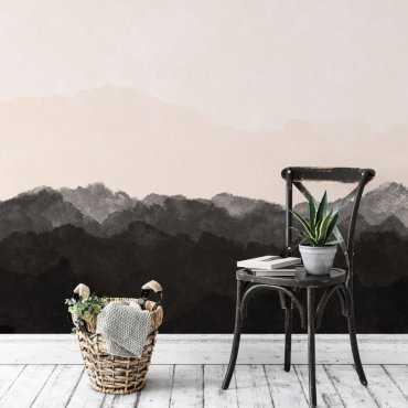 tapeta watercolor sunrise