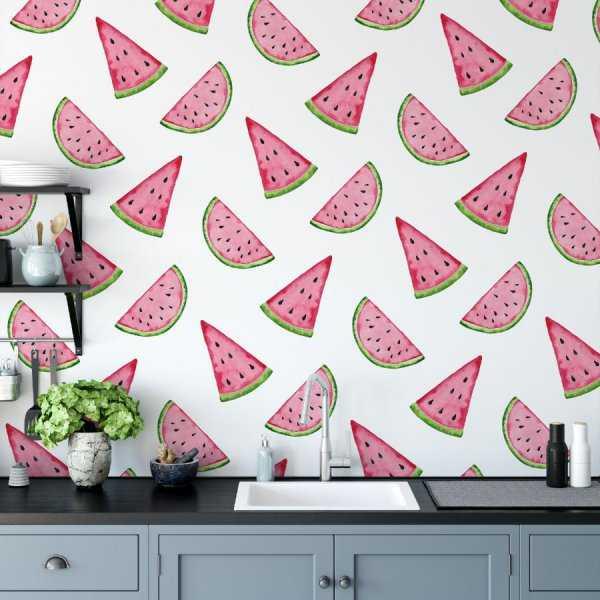 tapeta watermelon art