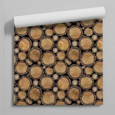 tapeta wooden blocks