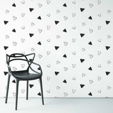 SIMPLE TRIANGLES - Tapeta na ścianę