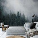 tapeta woods & fog