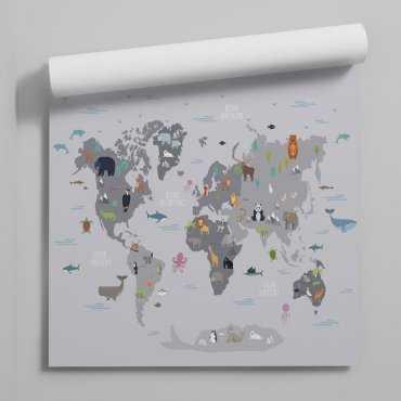 tapeta world of animals