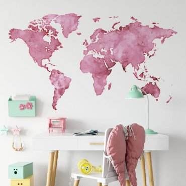 tapeta pink world