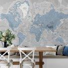 Tapeta Blue World map