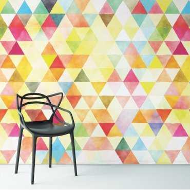 SWEET RAINBOW - Designerska tapeta na ścianę