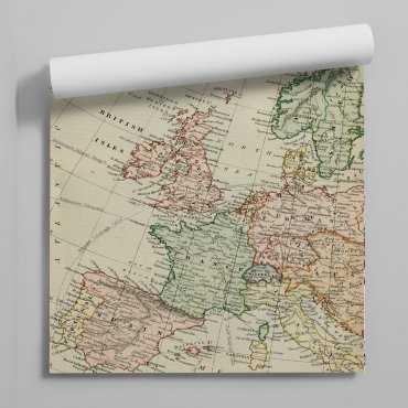 Tapeta retro europe