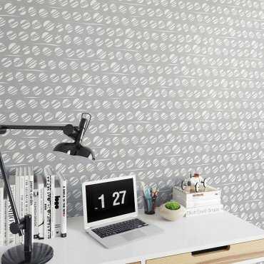 BUBBLES - Designerska tapeta na ścianę