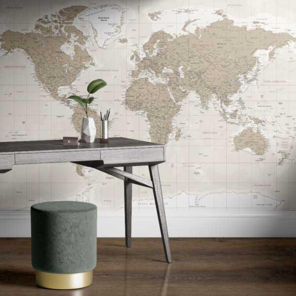tapeta sandy world map