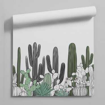 tapeta cactus landscape
