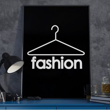 FASHION - Plakat designerski