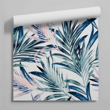tapeta big turquoise palms